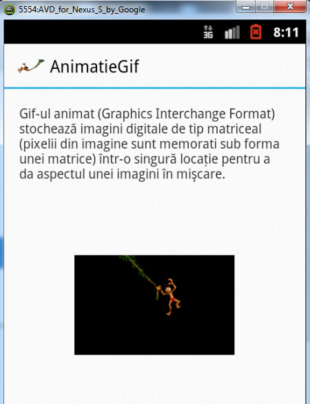 implementare gif animat